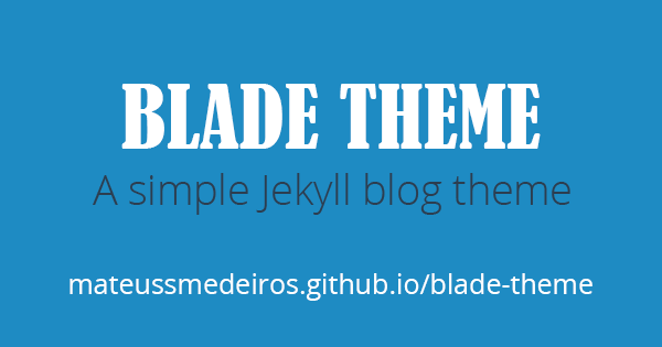 Logo do Blade Theme